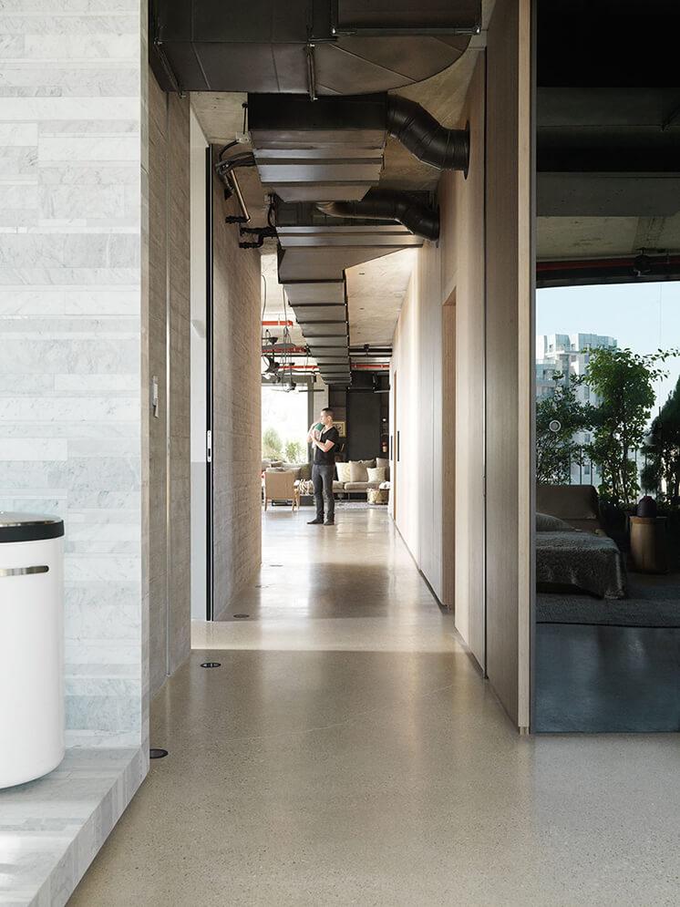 Est Magazine Tel Aviv Hallway