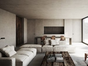 Living Room: Nicolas Schuybroeck Architects