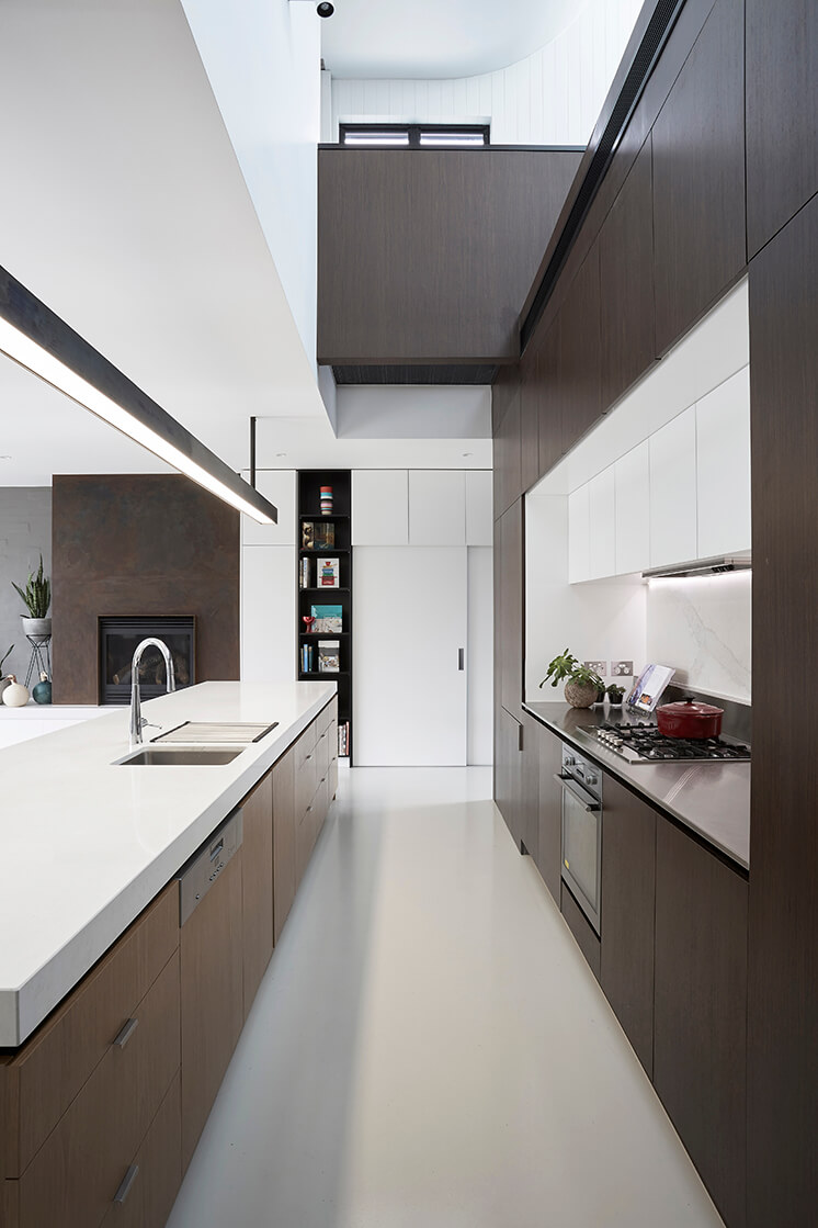 Est Living Taylor Knights St Kilda House Kitchen Void 01