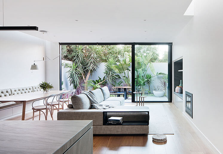 robson rak courtyard home living room est living