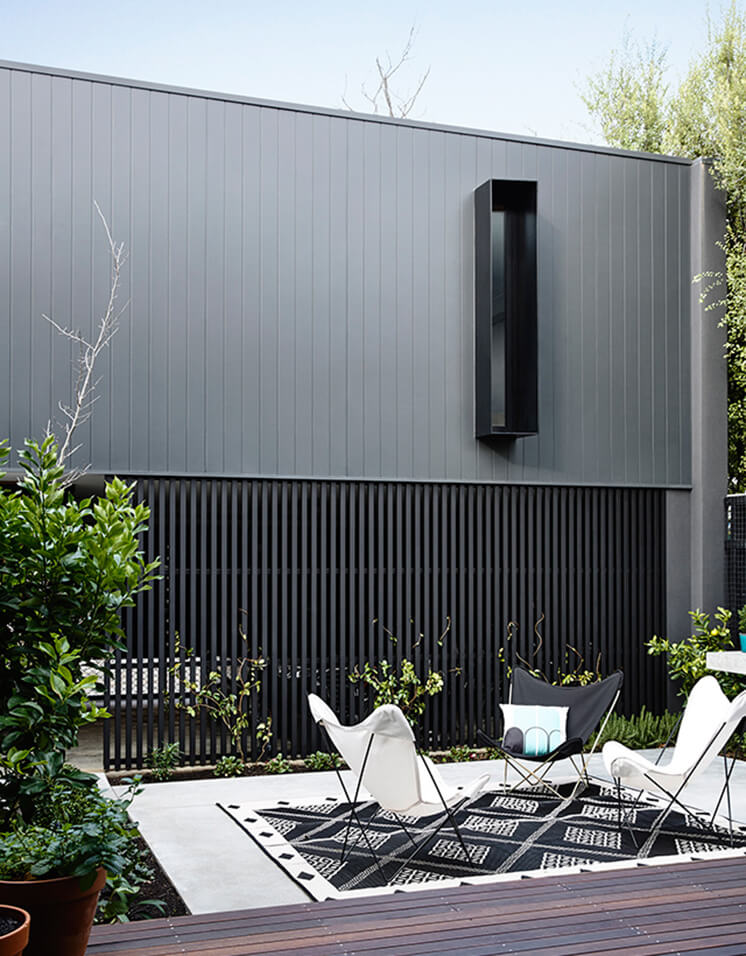 Elwood House Inform Design Est Living Backyard 1