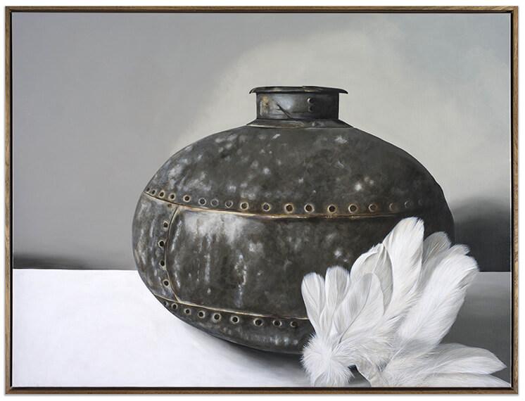 Est Living Oil Bottle Feathers Edwina Corlette