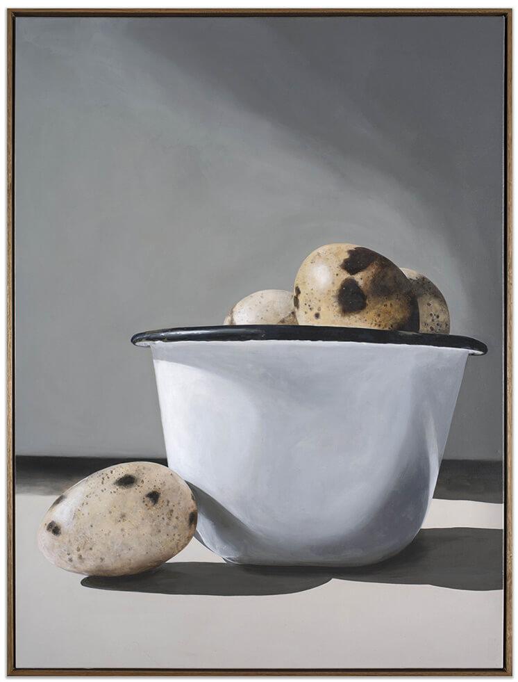 Est Living Quail Eggs and Bakeware Edwina Corlette