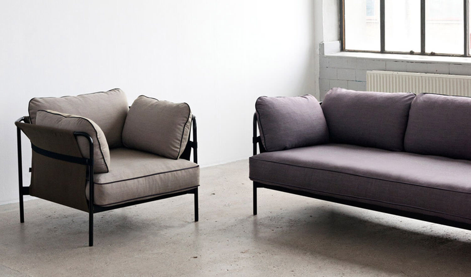 Est Living Bouroullec for Hay Can Sofa