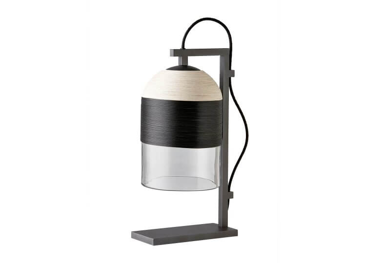 Indi Table Lamp in Olive Articolo