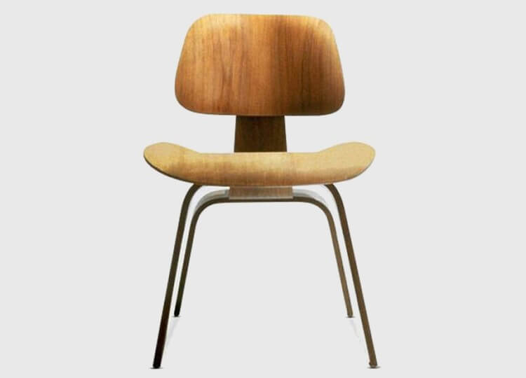DCW Moulded Plywood Chair | Living Edge