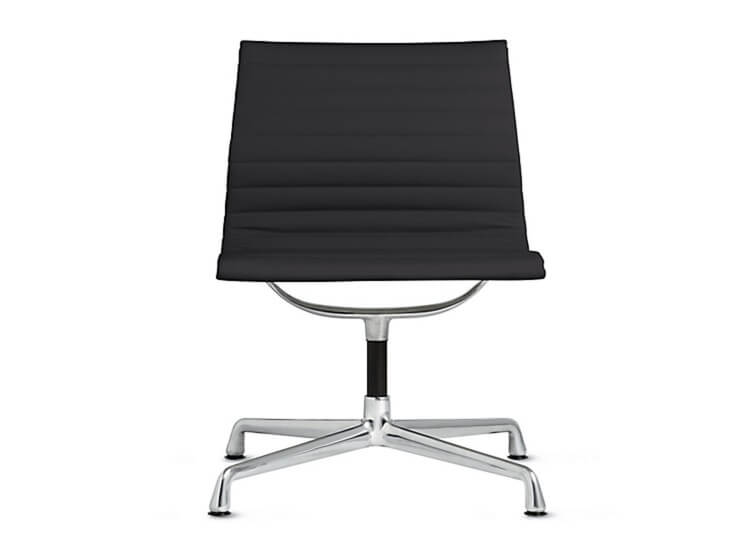 Est Living Design Directory | Eames Aluminium Side Chair | Living Edge