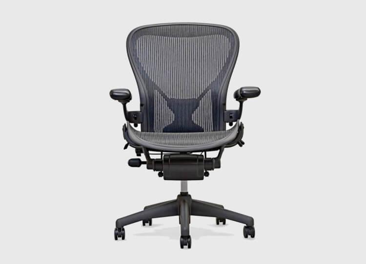 Aeron Chair in Graphite | Living Edge