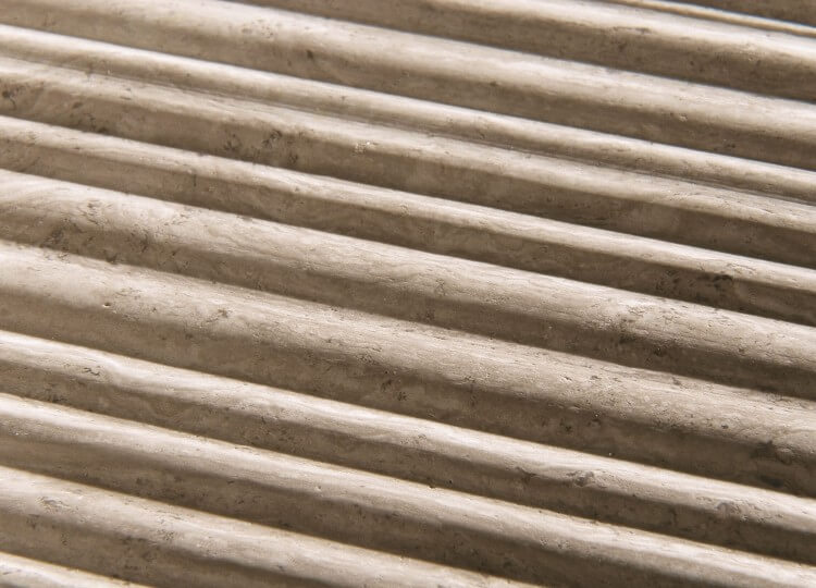 Silk Georgette in Bamboo Finish | Salvatori