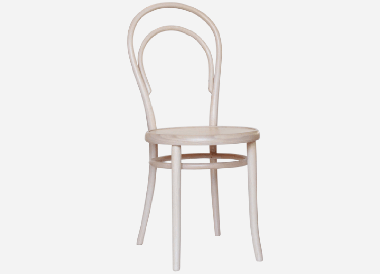 No 14 Vienna Bentwood Chair in Natural Wash | Thonet