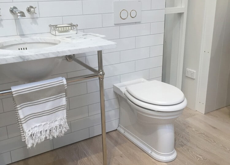 Traditional Back to Wall Wall Toilet | The English Tapware Company | Est Design Directory