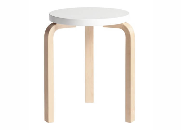 est living artek e60 stool.white  750x540