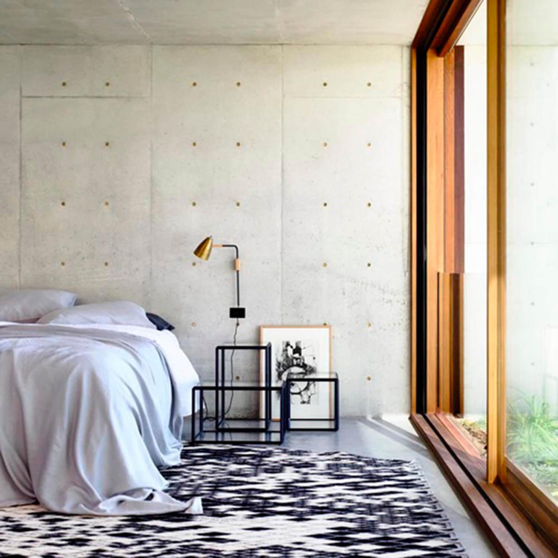 est living concrete house auhaus architects bedroom