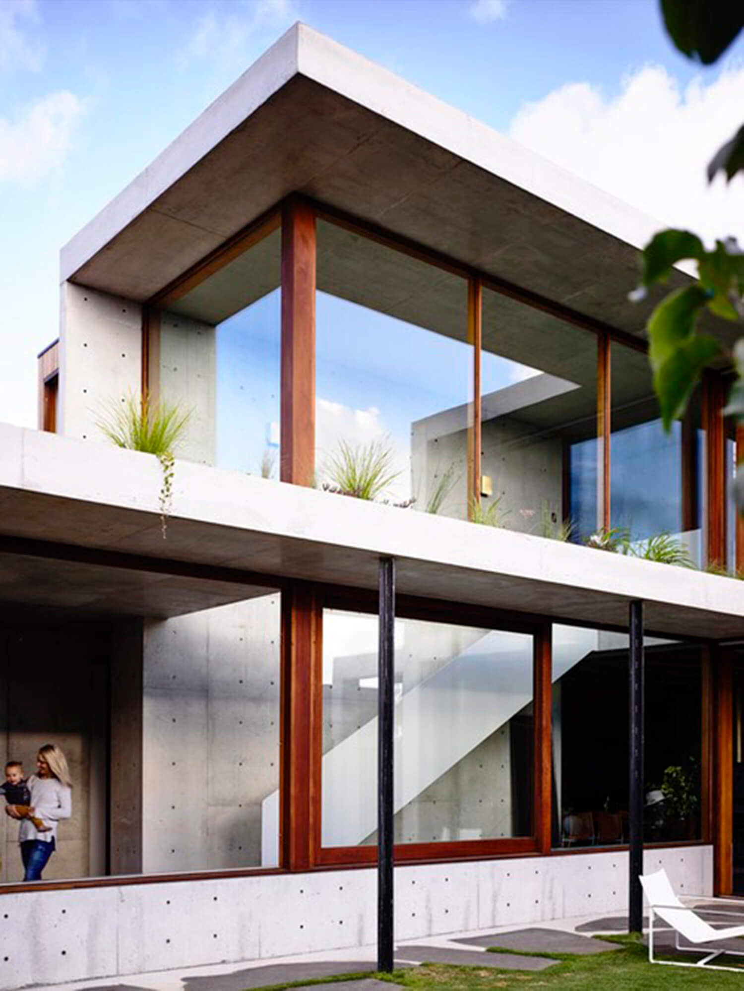 Concrete House | Exterior | Auhaus Architecture |Est Living