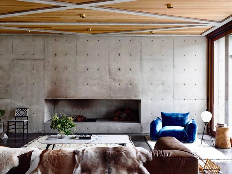 Concrete House | Living Room | Auhaus Architecture |Est Living