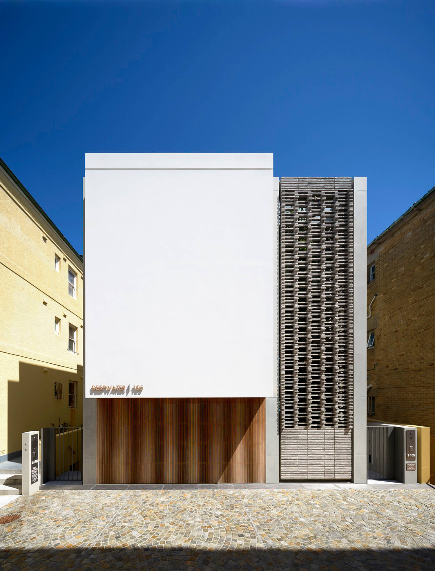 est living deepwater house tobias architects