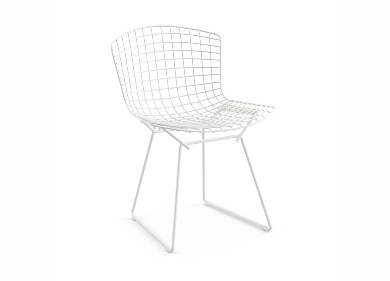 est living design directory bertoia side chair white