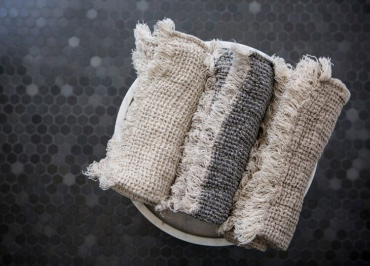 Flocca Linen Facecloth | Hale Mercantile | Est Design Directory