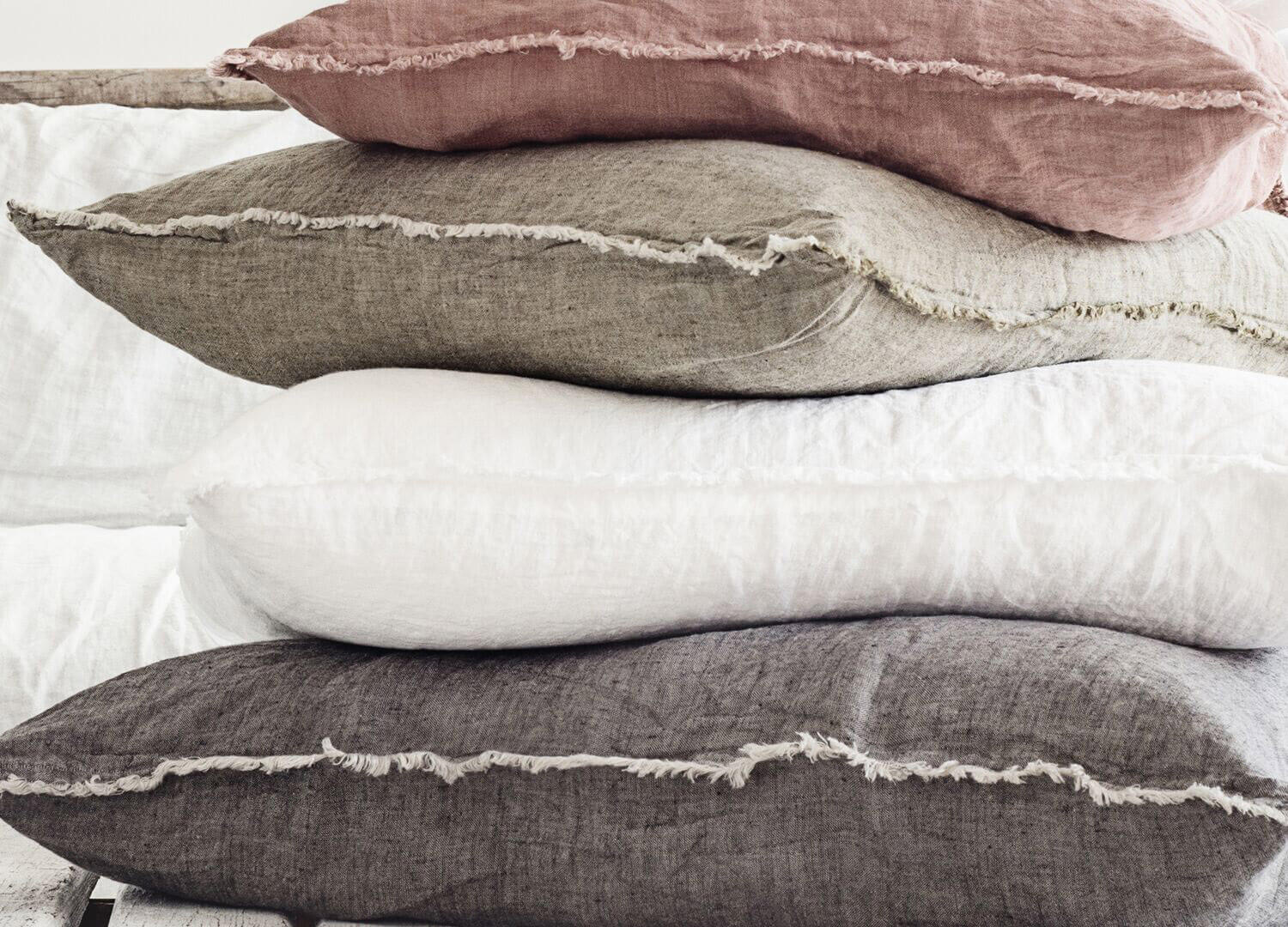 Flocca Linen Euro Pillowcase | Hale Mercantile