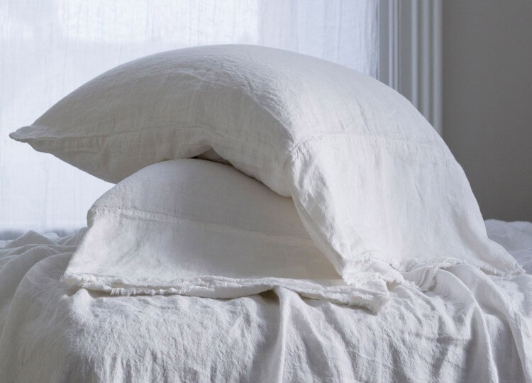 Flocca Long Linen Pillowcase | Hale Mercantile | Est Design Directory