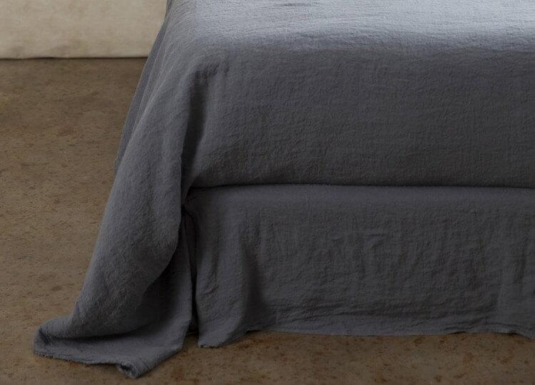 Basix Linen Bedskirt | Hale Mercantile | Est Design Directory