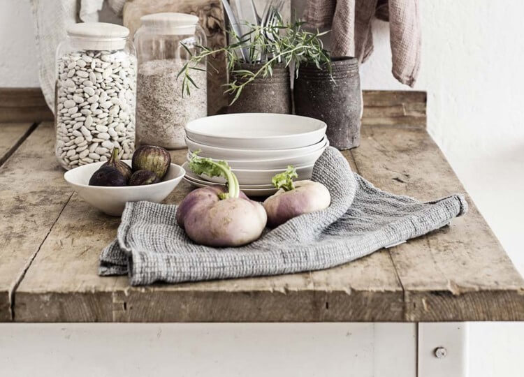 Tutto Linen Tea Towel | Hale Mercantile | Est Design Directory