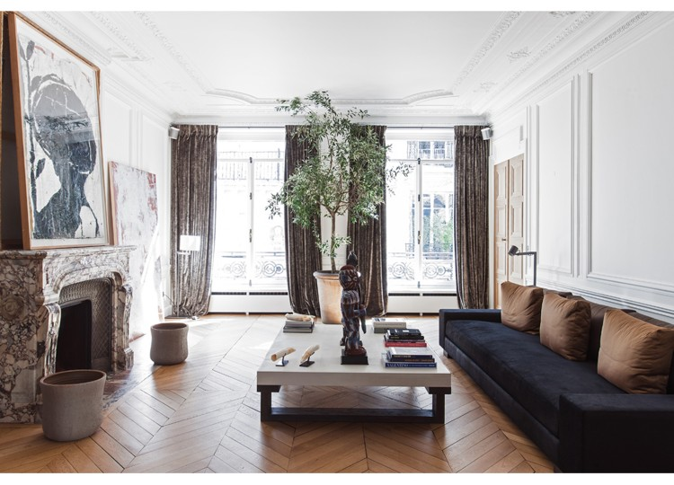 Lille Apartment Living Room | Isabelle Stanislas Architect | Est Living