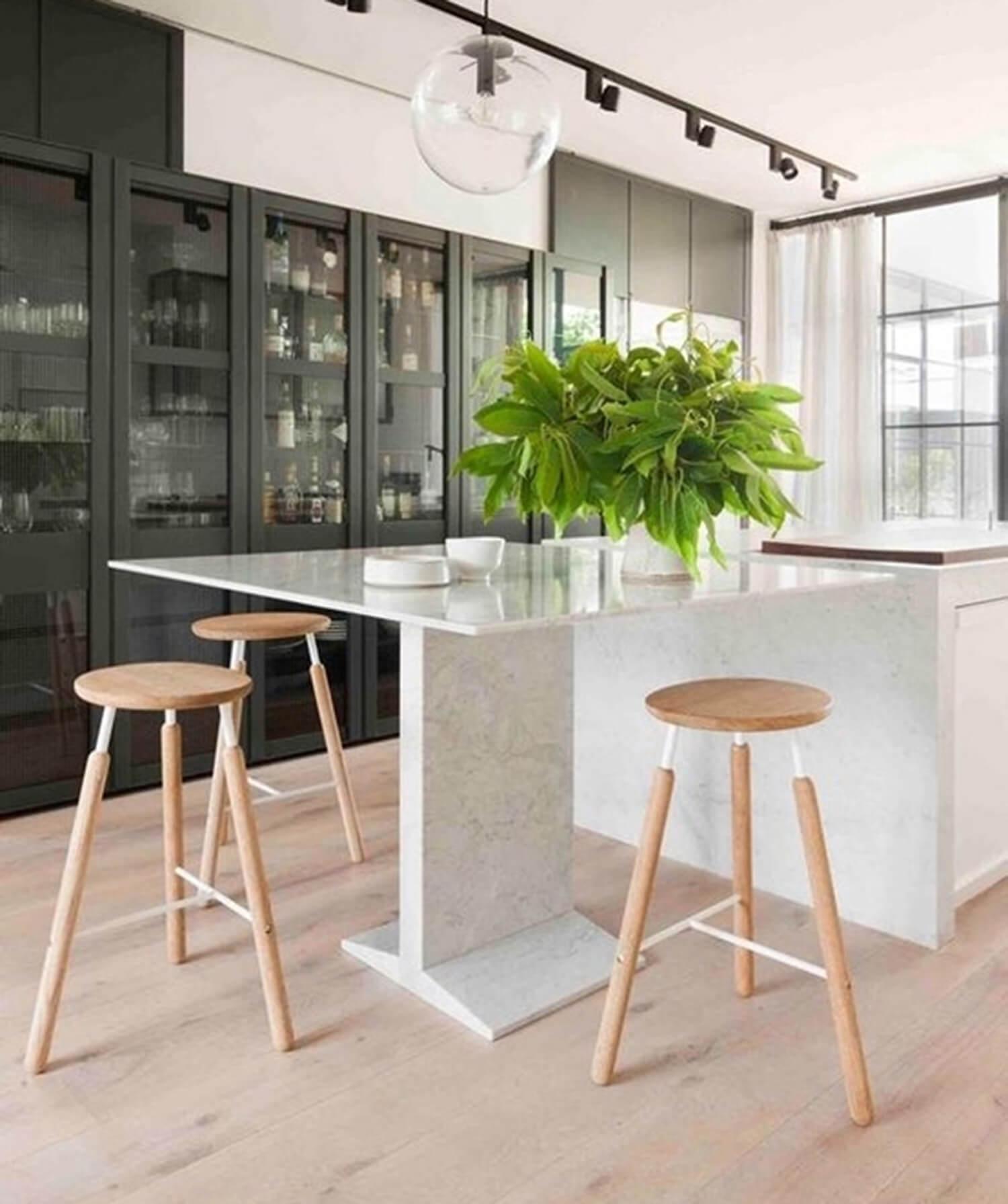 est living kitchen covet raft stool hecker guthrie design directory 1