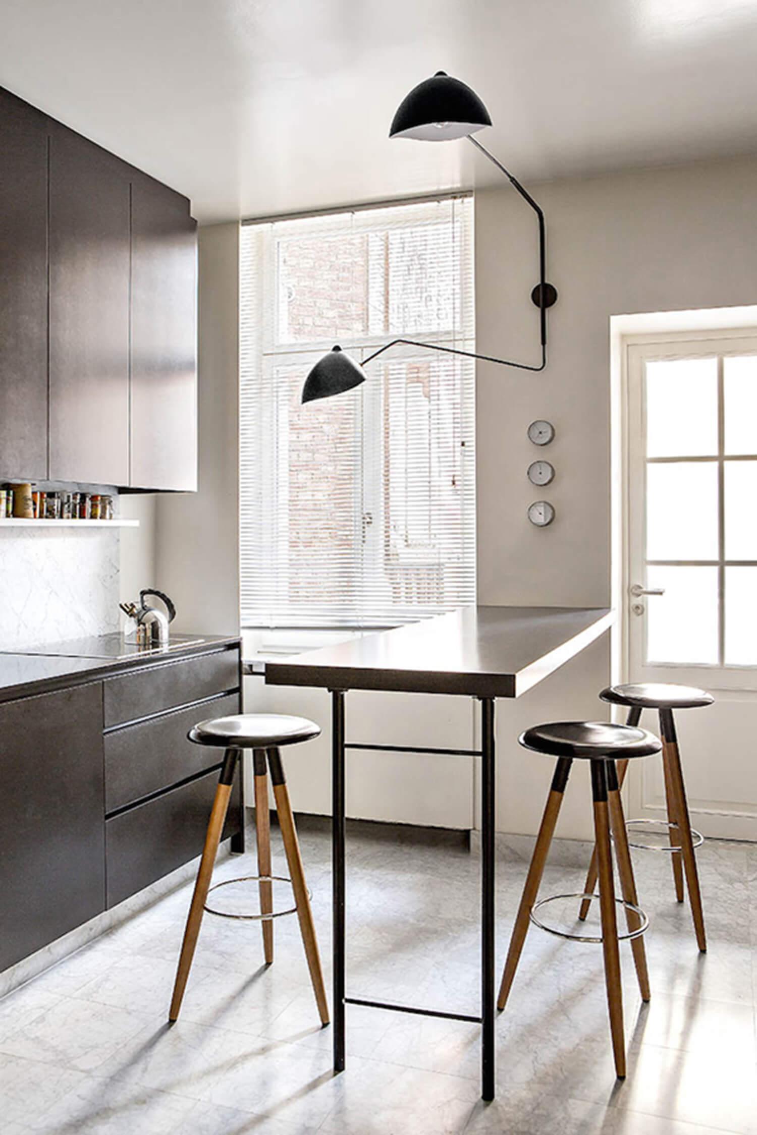 est living michael penneman apartment kitchen