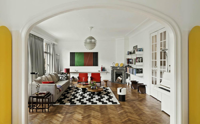 est living michael penneman apartment living room