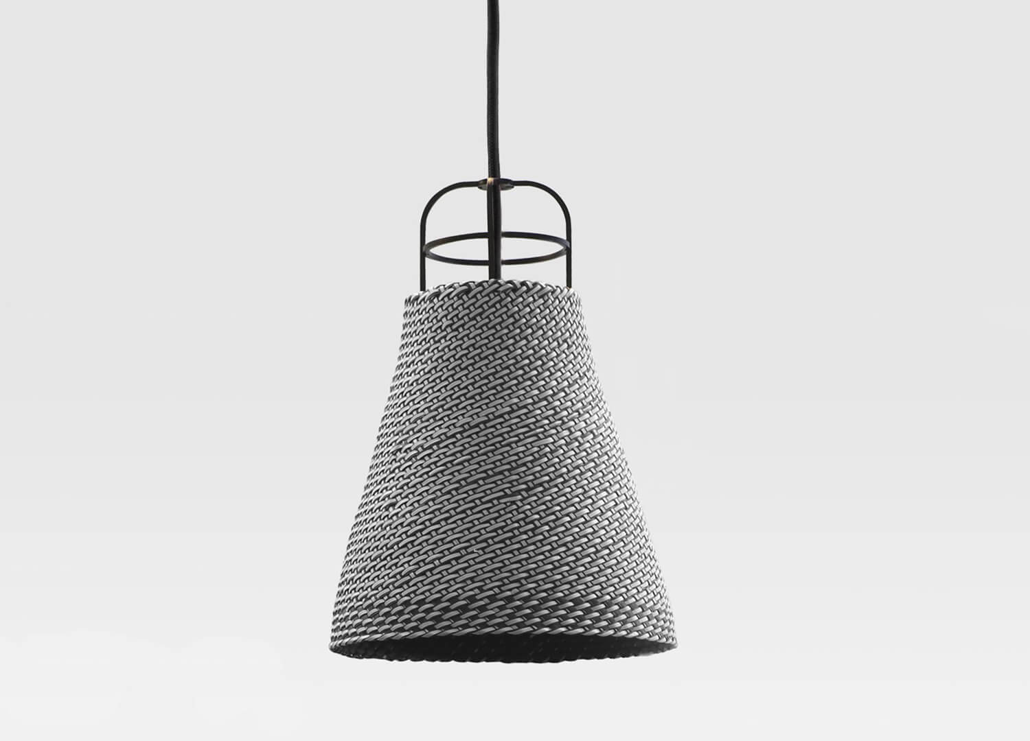est living wickedly wickered sarn pendant lamp