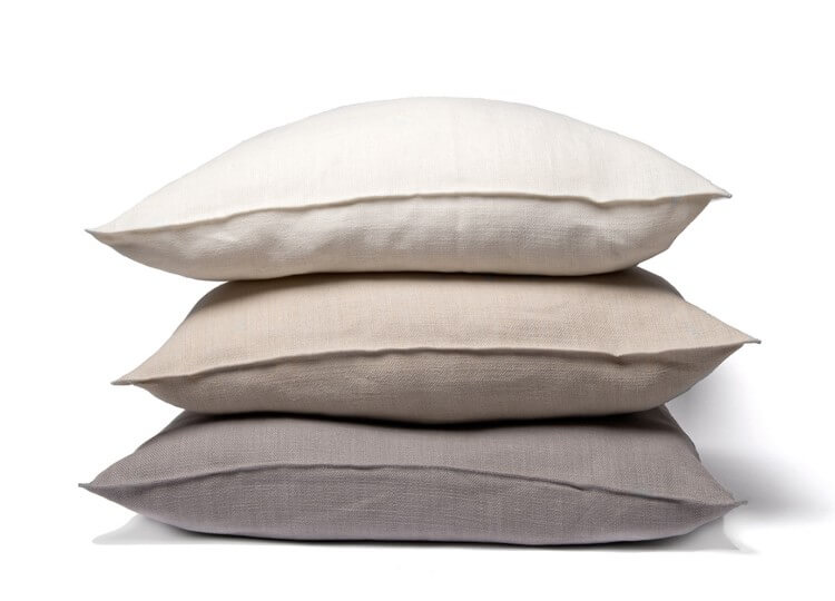 Belgian Linen Cushions | Est Essentials Collection |  Design Directory