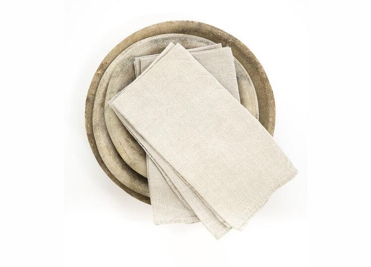 Libeco Belgian Linen Napkins | Est Essentials Collection