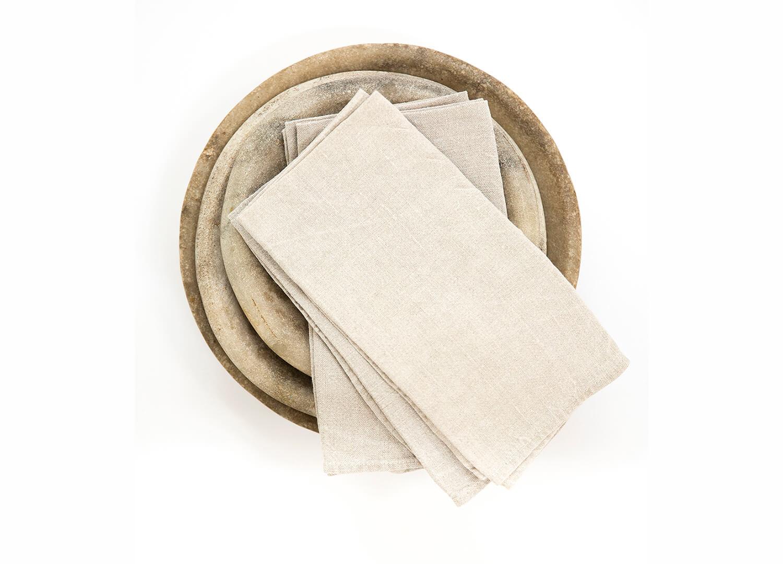 est essentials linen napkins natural