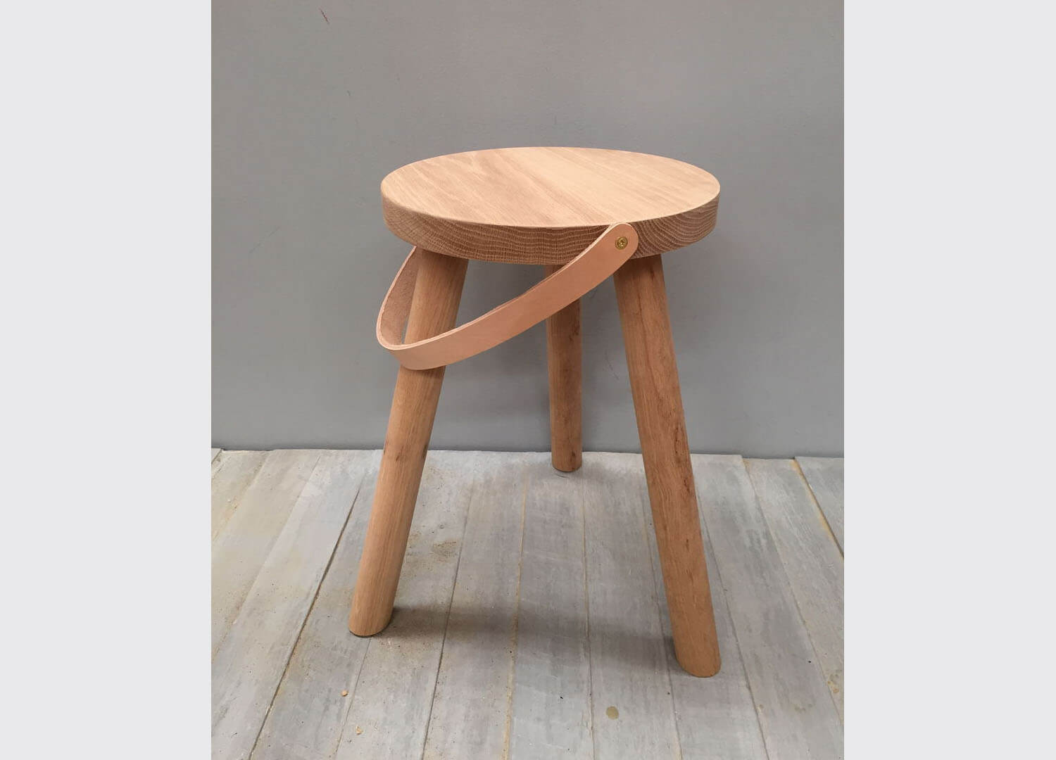 Oak Stool | Chris Colwell