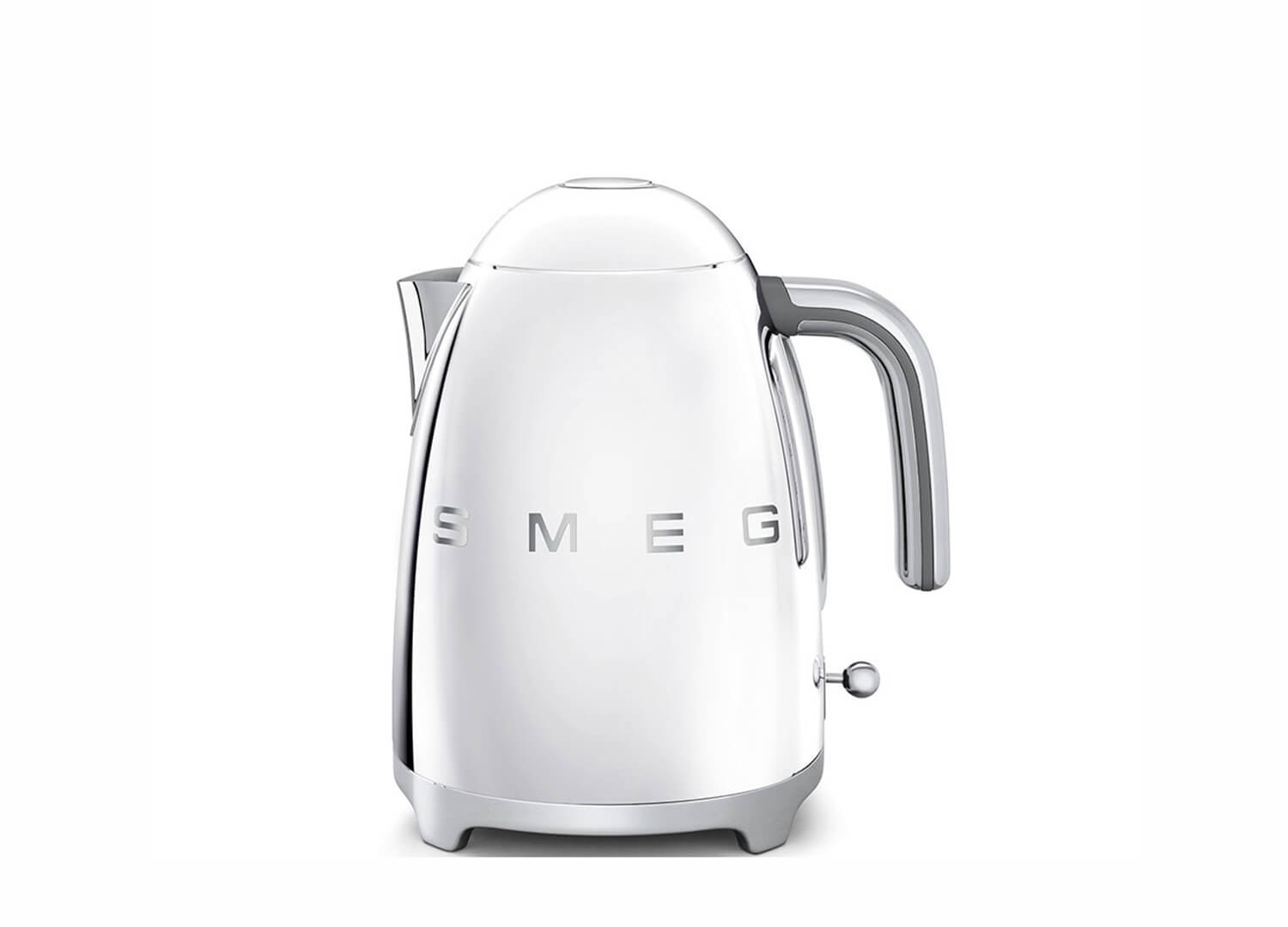 Retro Kettle in Silver | Smeg