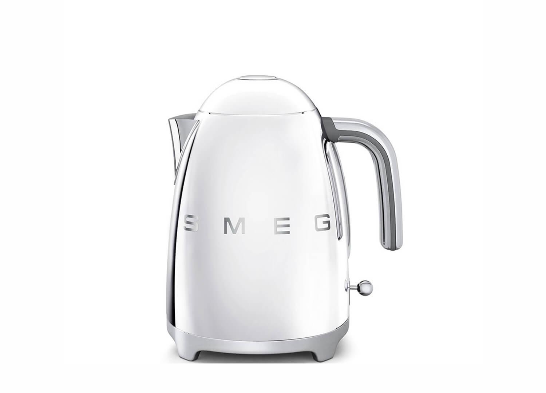 est living design directory smeg retro kettle silver