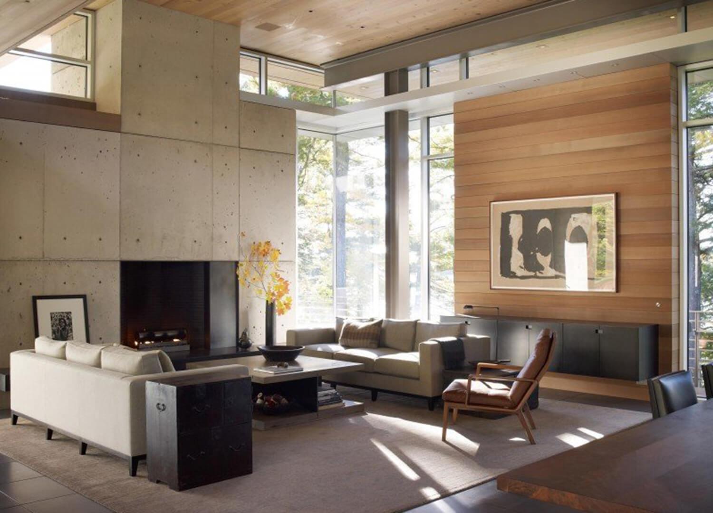 est living olson kundig northwood home living room