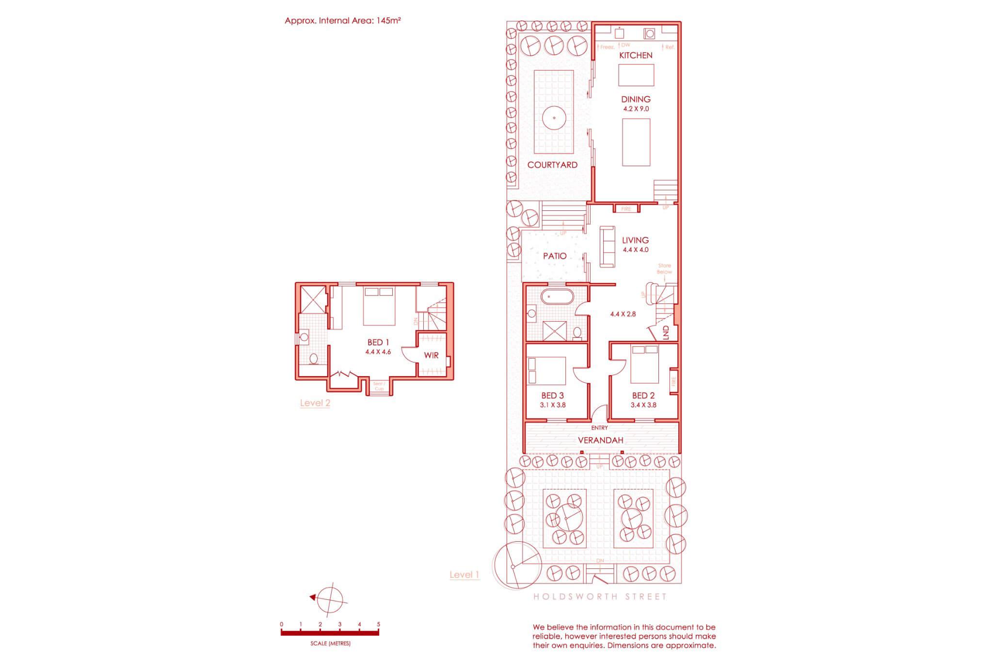 est living bresic whitney woollahra open house floorplan