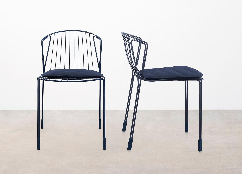 est living design directory Tait Tidal Chair  0004 Navy Navy Navy