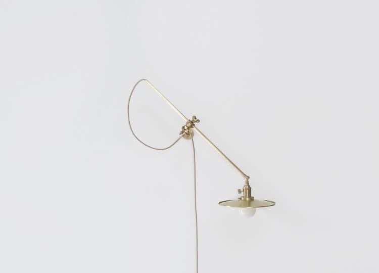 Brass Wall Lamp   Est Living Design Directory