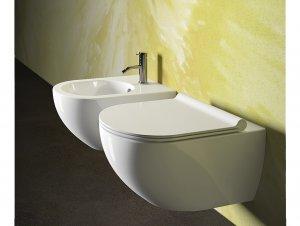 Sfera Rimless Wall Hung Toilet