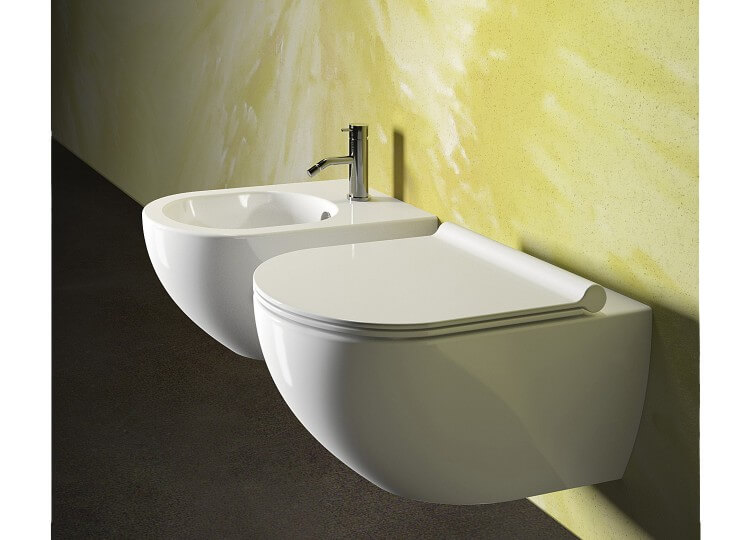 Sfera Rimless Wall Hung Toilet