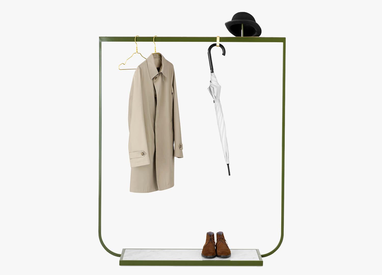 est living design directory tati coat rack green