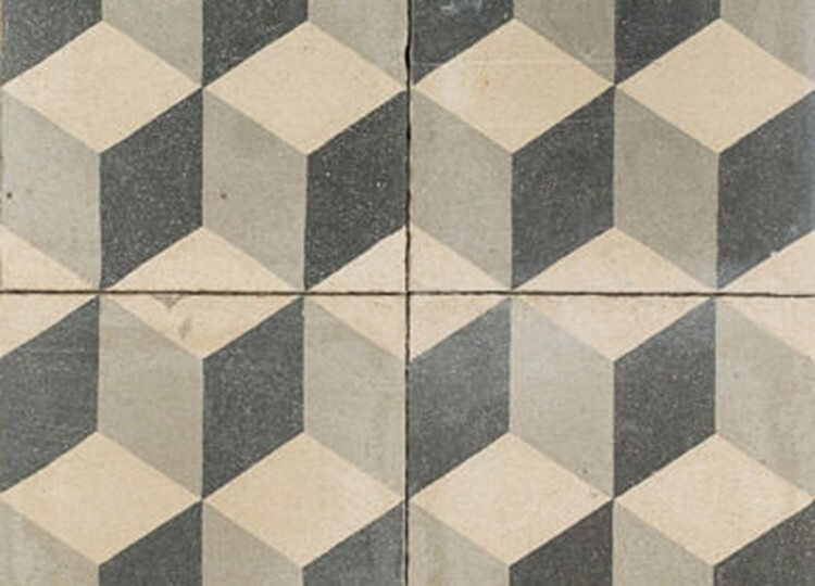 Cubist Antique Tile | Jatana Interiors | Est Living Design Directory