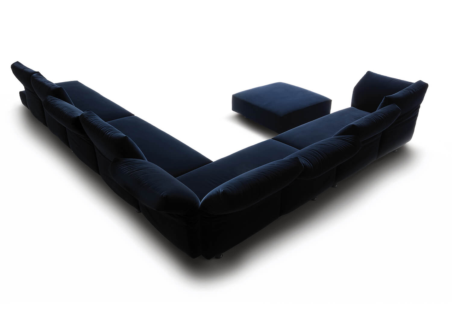 Est Living | Essentials Sofa by Edra | Space Furniture