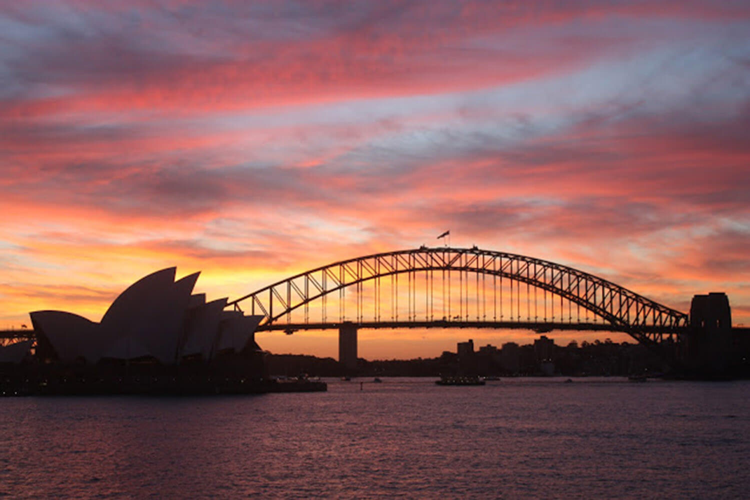 est living 48 hours in sydney sunset cruise