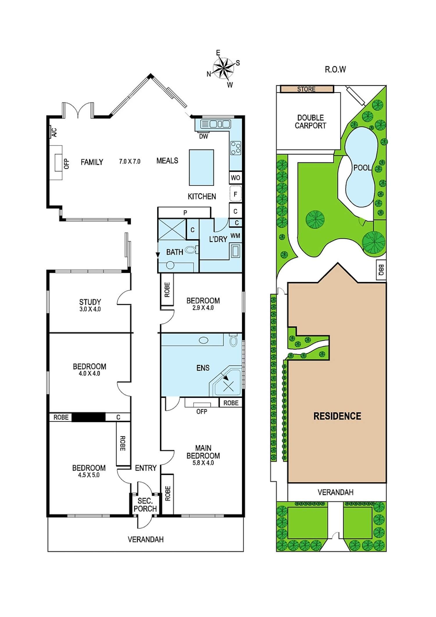 est living open house 54 denbigh road armadale floorplan