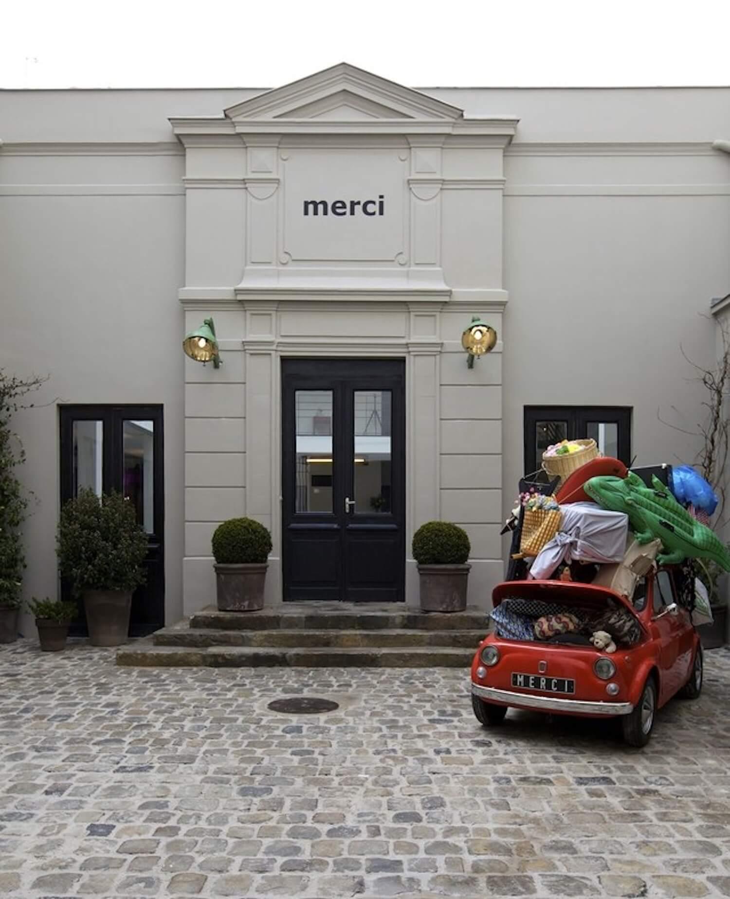 est living paris travel guide shopping merci