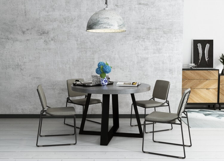 Marin Dining Table Rosa